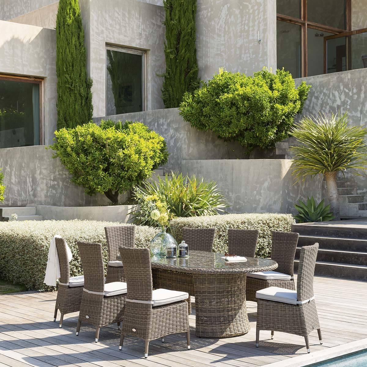 Table de Jardin Aluminium, Extensible, Rectangle, Hespéride