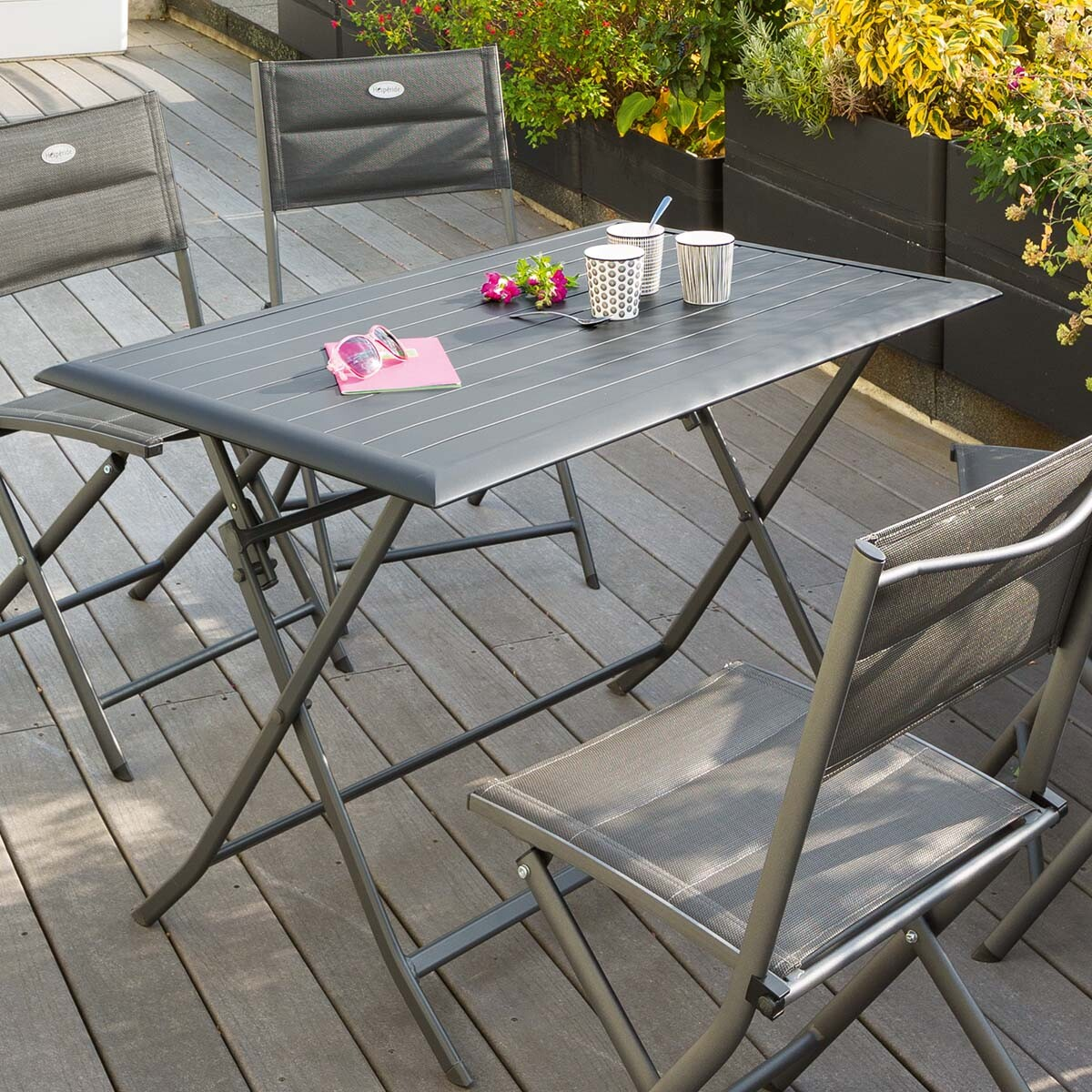 table balcon awesome balcony foldable table exterior wood. Black Bedroom Furniture Sets. Home Design Ideas