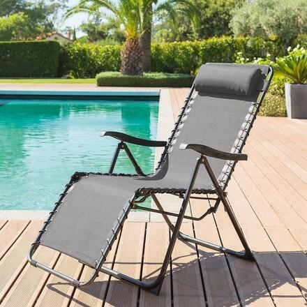 Fauteuil relax de Jardin | Chaise Relax de Jardin Hespéride