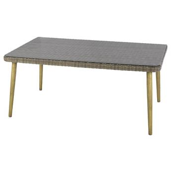 Table de jardin extensible s ville graphite hesp ride 10 for Table extensible axiome