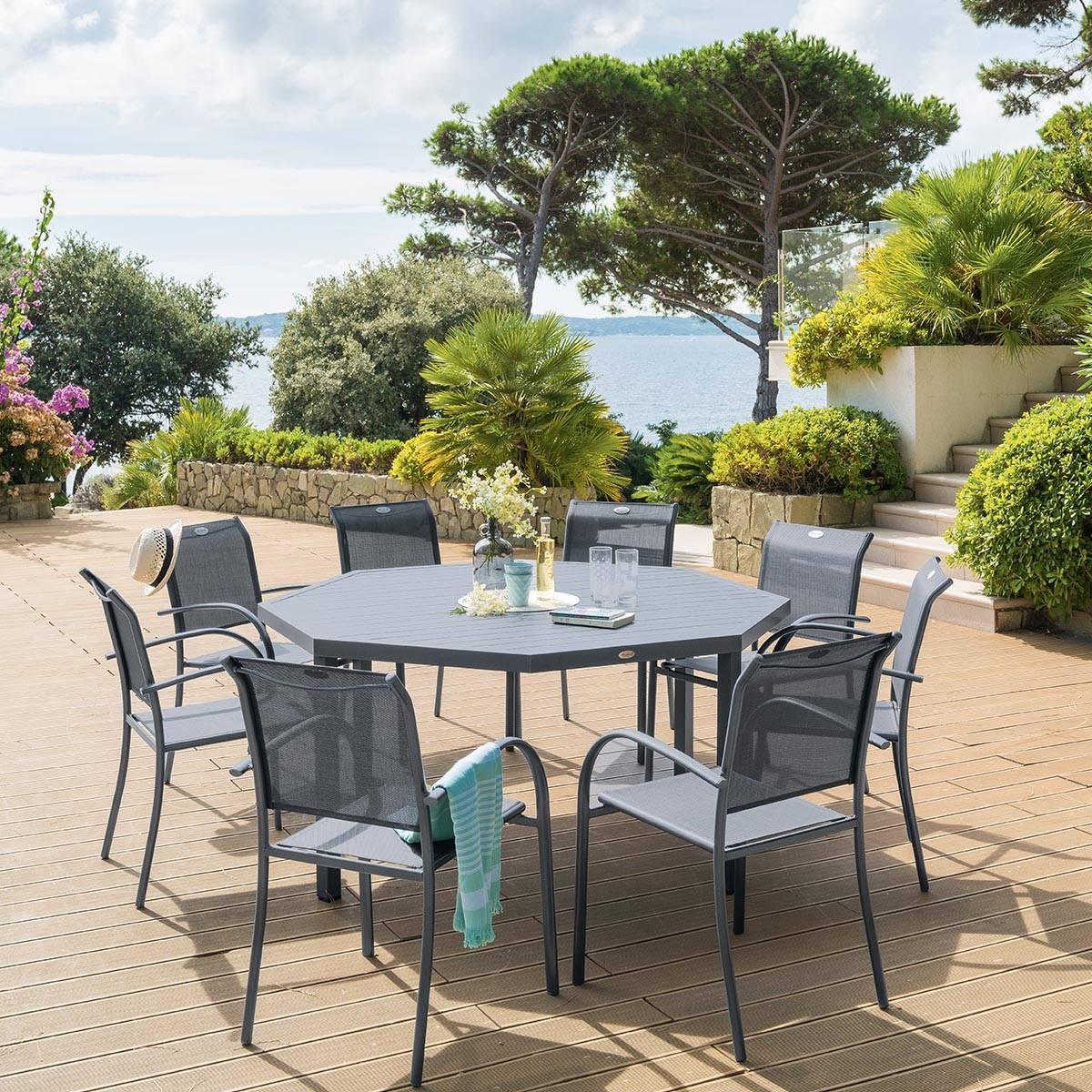 Table extensible piazza : achat Table extensible piazza